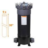 Filtre multi-cartouches FHPVC-30x9-B Crystal Filter® - 9 x 30 pouces