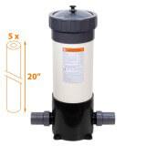 Filtre multi-cartouches FHPVC-20x5-A Crystal Filter® - 5 x 20 pouces