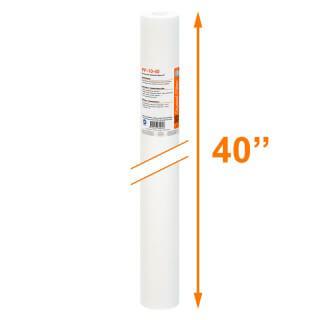 Cartouche PP-10-40 sédiment SPUN 40'' - filtre 10 µm - Crystal Filter®