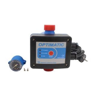 Pressostat électronique Optimatic avec manomètre