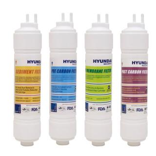 Lot de cartouches Hyundai Type ''U'' 11'' pour fontaine Hyundai Wacortec