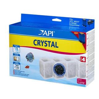 Filtre aquarium API Rena Nexx™ Crystal Size 4 (x4 filtres)