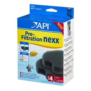 Filtre aquarium API Rena Nexx™ PRE filtration Size 4 (2x filtres)