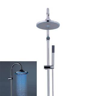 Système de douche double avec éclairage LED