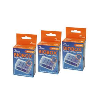 Filtre aquarium Easy box S Grosse mousse Aquatlantis  (lot de 3) - Biobox