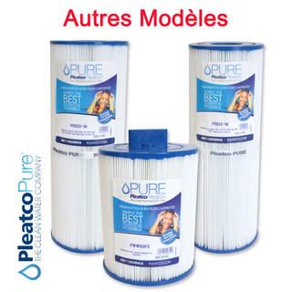 Autres modèles de Filtres Spas et Jacuzzi - Cartouches Pleatco