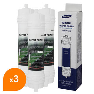 Filtre WSF-100 Magic Water Filter - Filtre frigo d'origine Samsung WSF-100 (lot de 3)