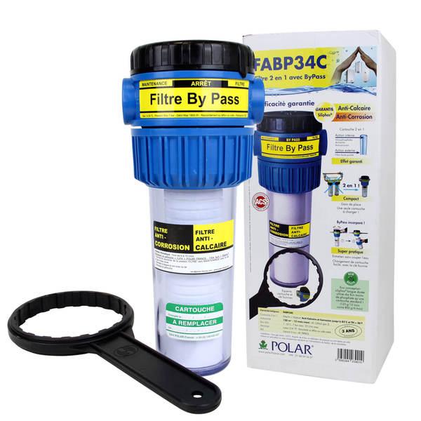 filtre fabp34c polar compact 2 en 1 anti calcaire et. Black Bedroom Furniture Sets. Home Design Ideas