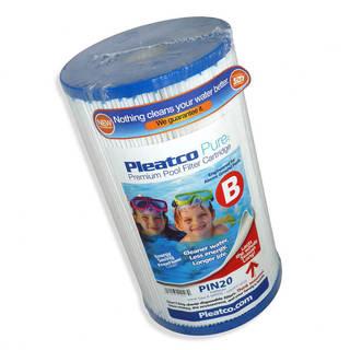 Filtre PIN20 Pleatco Standard - Compatible Intex Recreation 59901W - Cartouche Filtre Spa piscine