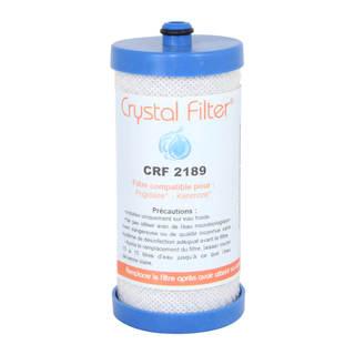 Filtre Crystal Filter® CRF2189 - Filtre frigo PureSource / RG100 compatible Frigidaire  WF1CB