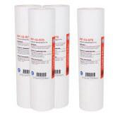 Filtre adoucisseur universel - Cartouche adoucisseur sédiment SPUN polypro 9''7/8 - 10µm (lot de 4)