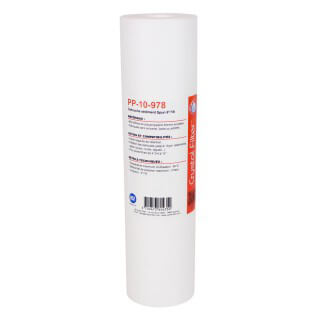 Filtre adoucisseur universel - Cartouche adoucisseur sédiment SPUN polypro 9''7/8 - 10µm