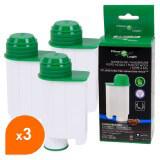 Cartouche compatible Saeco Intenza + / Filter Logic CFL-902B / Filtre à eau cafetière (lot de 3)